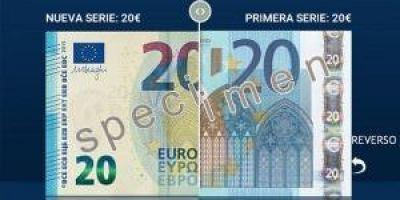 Comerciantes y empresas se preparan para el nuevo billete de 20 euros.
