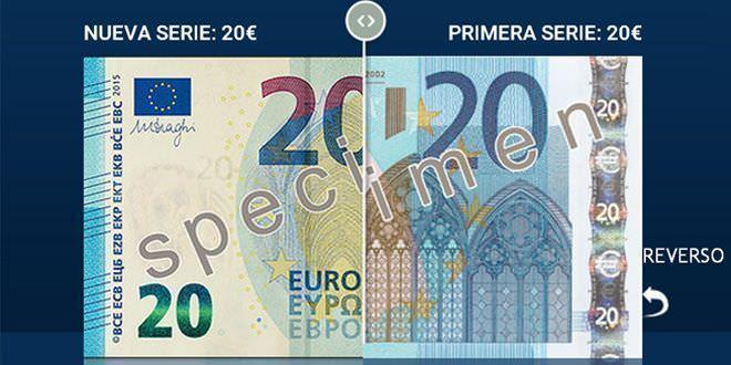 Billete 20 euros