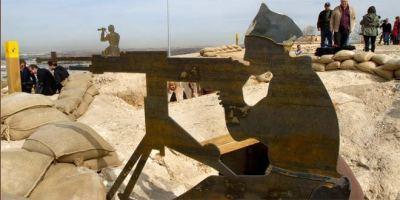 Rehabilitación de las trincheras de la guerra.