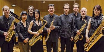 El grupo Sax Ensemble.