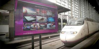 Renfe y Telefónica ofrecerán WIFI en trenes y estaciones.