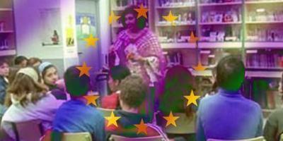 Cuentacuentos para acercar a los niños las tradiciones de la Unión Europea.