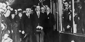 Inauguración de la primera línea de metro (1919)