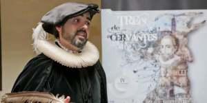 Tren de Cervantes. Actor