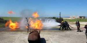 Prácticas bomberos