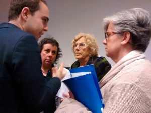 Carmena, Calvo, Gómez y Menéndez