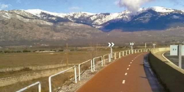 Carril bici Montecarmelo