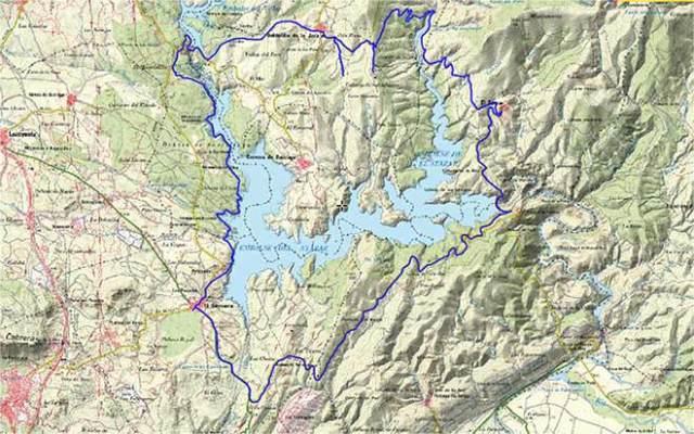 ruta senderismo senda genaro Mapa