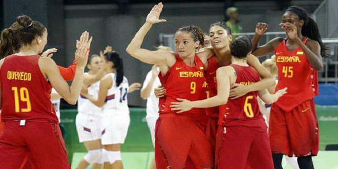 Equipo de baloncesto femenino
