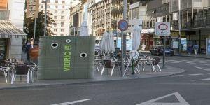 Nuevo mobiliario urbano en Madrid