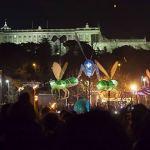 El solsticio de invierno llena de luz y color Madrid Río