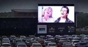Abre el autocine Madrid-Race