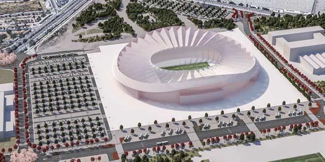Wanda Metropolitano y su entorno