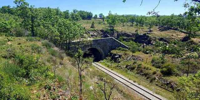 ruta a la cascada de Cancho Litero