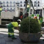 Madrid blinda sus calles con macetas y bolardos