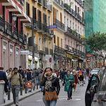 La calle Carretas, peatonal