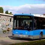 Refuerzo en las líneas de autobuses para el Día de los Difuntos