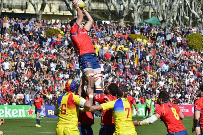 rugby españa rumanía
