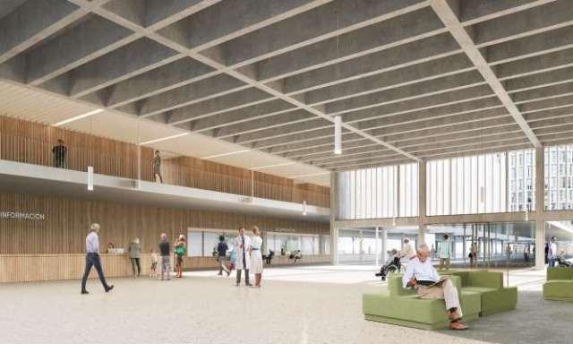 nuevo hospital la paz entrada
