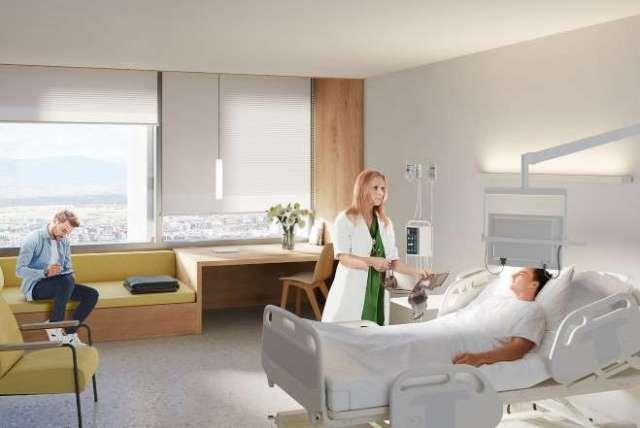 nuevo hospital la paz habitación