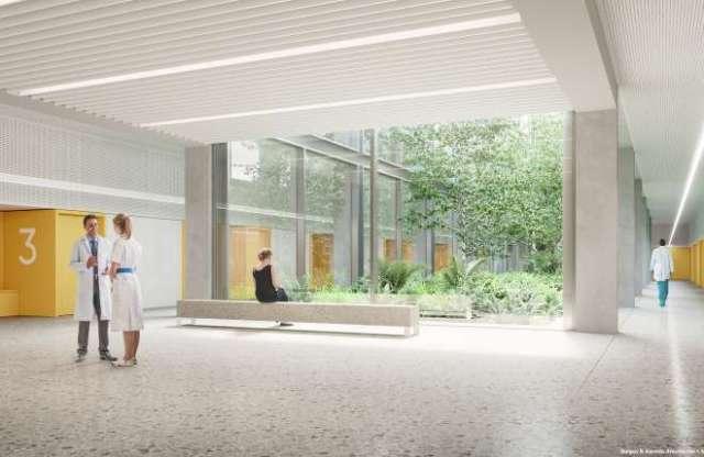 nuevo hospital la paz vestuarios