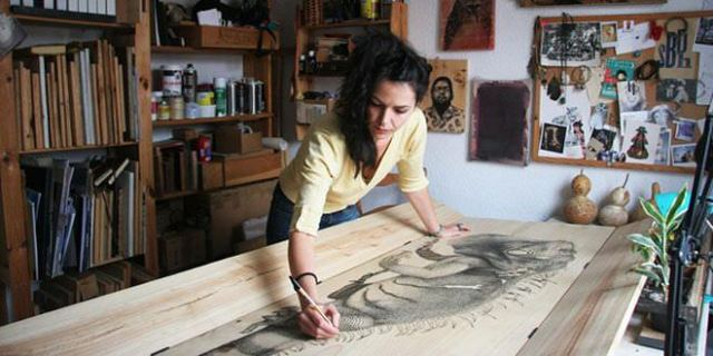Los artistas del barrio dibujante