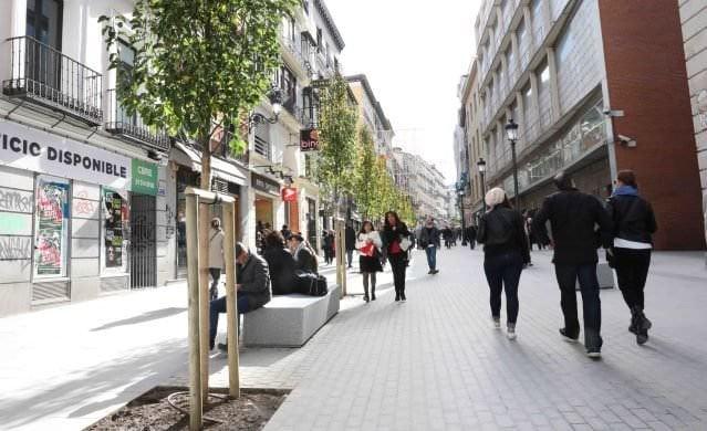 La Calle Carretas Peatonal De Puerta Del Sol A Jacinto