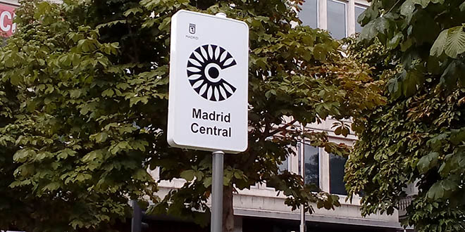 Cartel Madrid Central