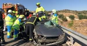 Accidente Valdelaguna Vehículo