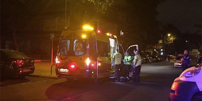 Apuñalamiento Villaverde Ambulancia Madrid