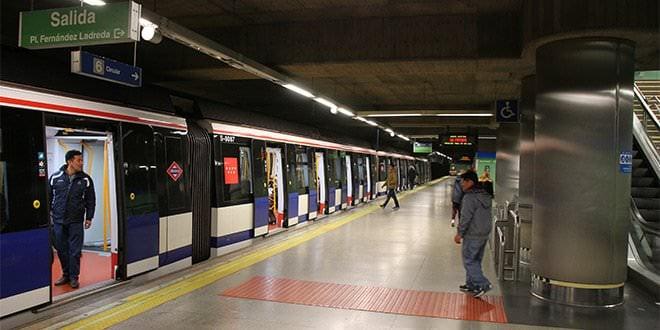 Plaza Elíptica Metro Madrid