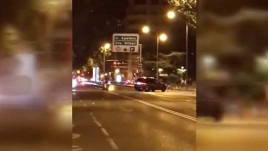 Intento atropello Calle Princesa Policía Municipal