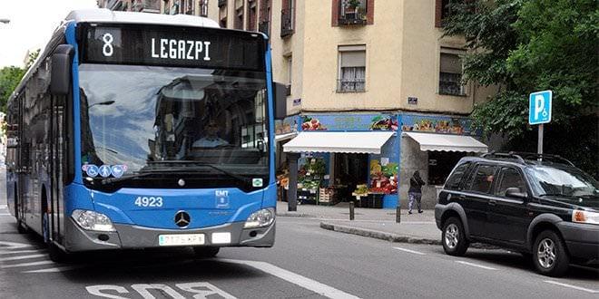 Autobús EMT Conductor