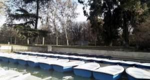 estanque del retiro embarcadero