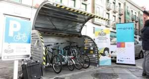bicihangar aparcamiento bicicletas proyecto piloto