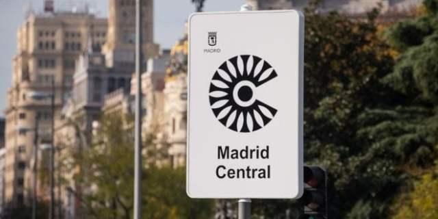 Madrid Central letrero