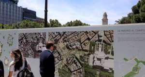 plaza españa obras remodelación tunel bailen
