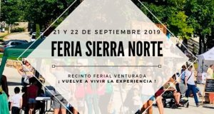 Feria Sierra Norte Madrid Cartel