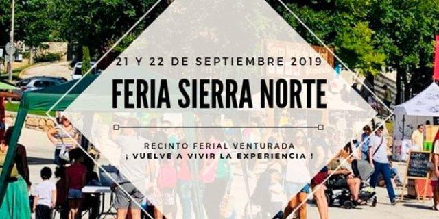 Feria Sierra Norte Madrid Cartel