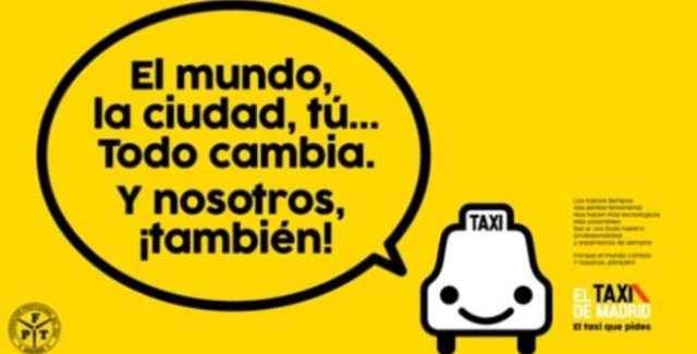 Cambios tarifas taxi