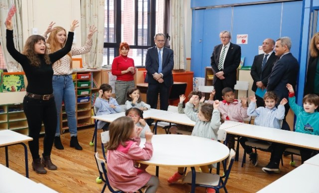Enseñanza trilingüe pública en Madrid