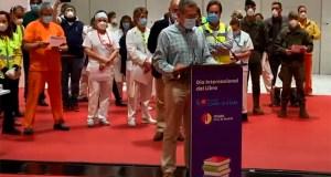 dia del libro 2020 hospital ifema pacientes