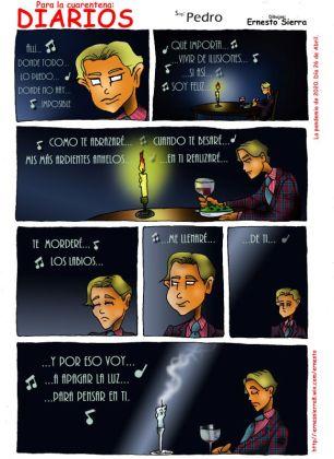 diarios cuarentena cómics ermesto