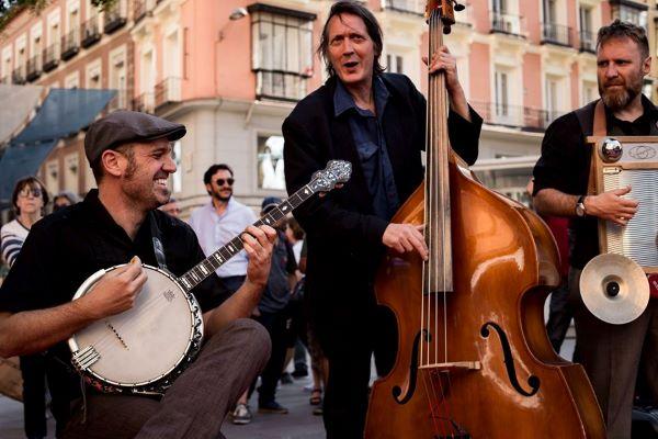 Banda de Jazz callejera