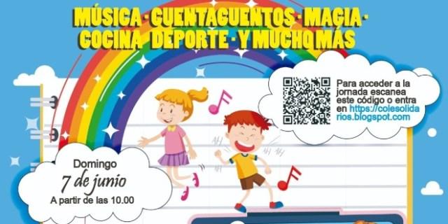 Jornada online solidaria en los colegios de San Blas