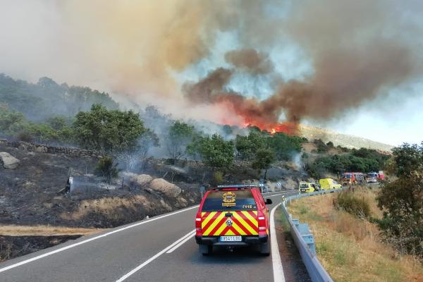 Emergencias incendio Zarzalejo