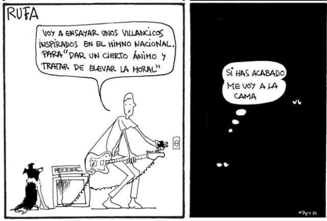 Iluminacion tira cómica