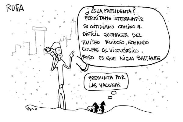 nieves tira comica