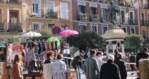 Rastro abre 22 noviembre cascorro plaza