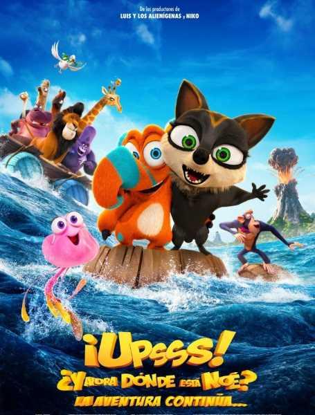 Película irlandesa ¡Upsss! ¿Y ahora dónde está Noé?